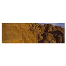 Spine on a hill, Badlands, Theodore Roosevelt Nati Poster