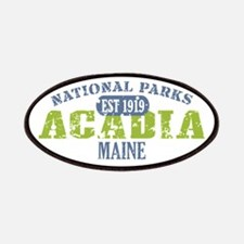 Acadia National Park Maine Patches