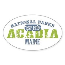 Acadia National Park Maine Decal
