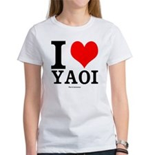 Women's I Heart Yaoi T-Shirt