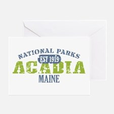 Acadia National Park Maine Greeting Card