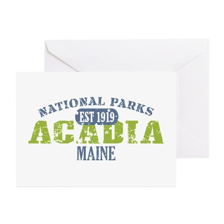 Acadia National Park Maine Greeting Cards (Pk of 1