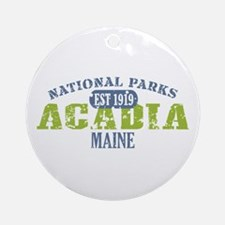 Acadia National Park Maine Ornament (Round)