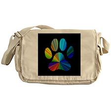 PAW PRINT Messenger Bag