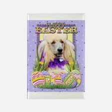 Easter Egg Cookies - Poodle Rectangle Magnet