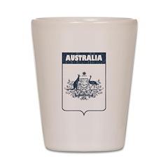Vintage Australia Shot Glass