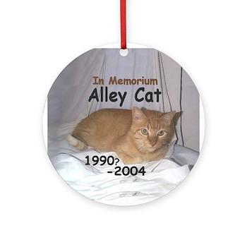 Tribute/Memorium Ornament - Customizable (Round)
