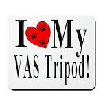 I Love My VAS Tripod Mousepad