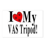 I Love My VAS Tripod Postcards (Package of 8)