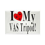 I Love My VAS Tripod Rectangle Magnet (100 pack)