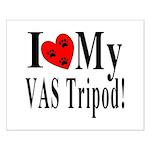 I Love My VAS Tripod Small Poster