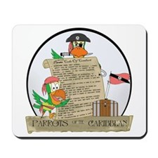 Parrots of the Caribbean Mousepad