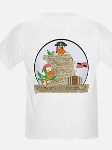 Parrots of the Caribbean Kids T-Shirt