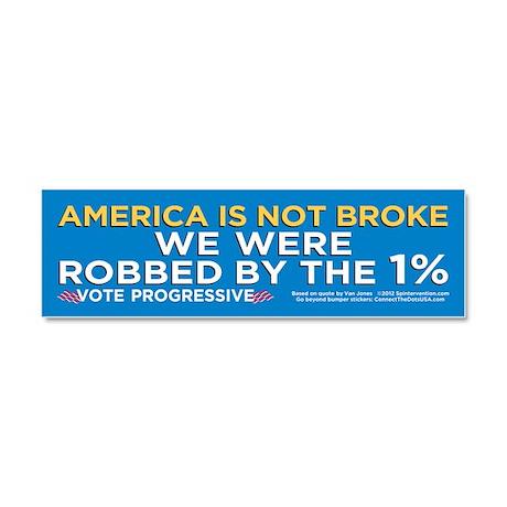 America Not Broke (Car Magnet 10x3)