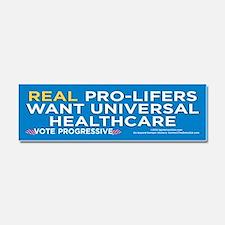 Real ProLifers/Health (Car Magnet 10x3)