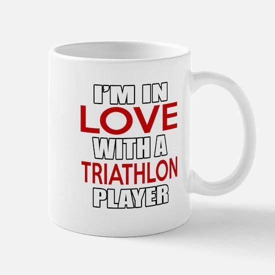 I Am In Love With Triathlon Play Mug
