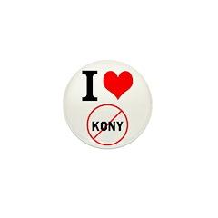I Heart Stop Kony Mini Button (10 pack)