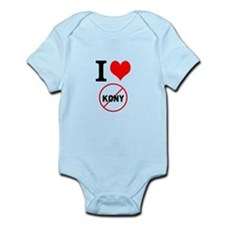 I Heart Stop Kony Infant Bodysuit