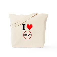 I Heart Stop Kony Tote Bag