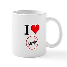 I Heart Stop Kony Small Mug