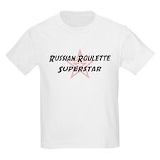 Russian Roulette Superstar Kids T-Shirt