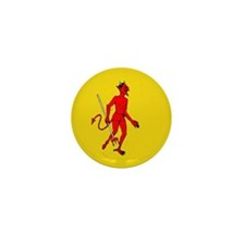 Loteria Diablo Mini Button (10 pack)