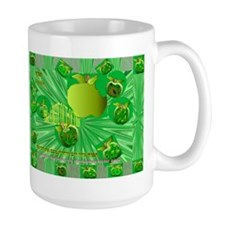 Hebrew Word for Apple in a Mug