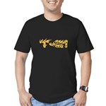 T-21 Flaming Men's Fitted T-Shirt (dark)