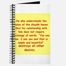 Sufi Sayings Journal