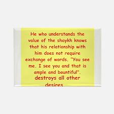 Sufi Sayings Rectangle Magnet