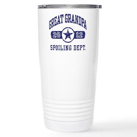 Great Grandpa 2012 Stainless Steel Travel Mug