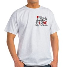 I Hold On To Hope Brain Tumor T-Shirt