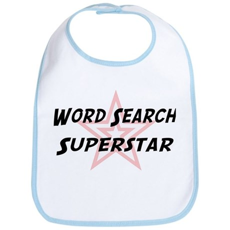 Word Search Superstar Bib