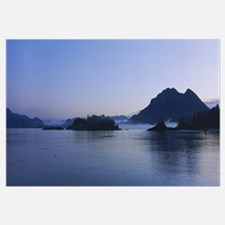 Rock formations in a sea, Clayoquot Sound, Vancouv