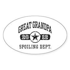 Great Grandpa 2012 Decal