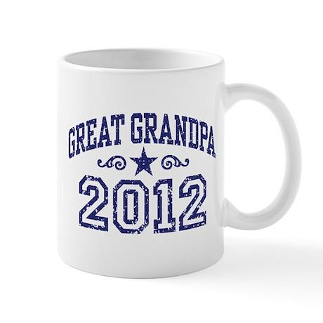 Great Grandpa 2012 Mug