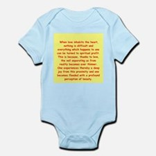 Sufi Sayings Infant Bodysuit