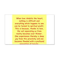Sufi Sayings 22x14 Wall Peel