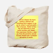 Sufi Sayings Tote Bag