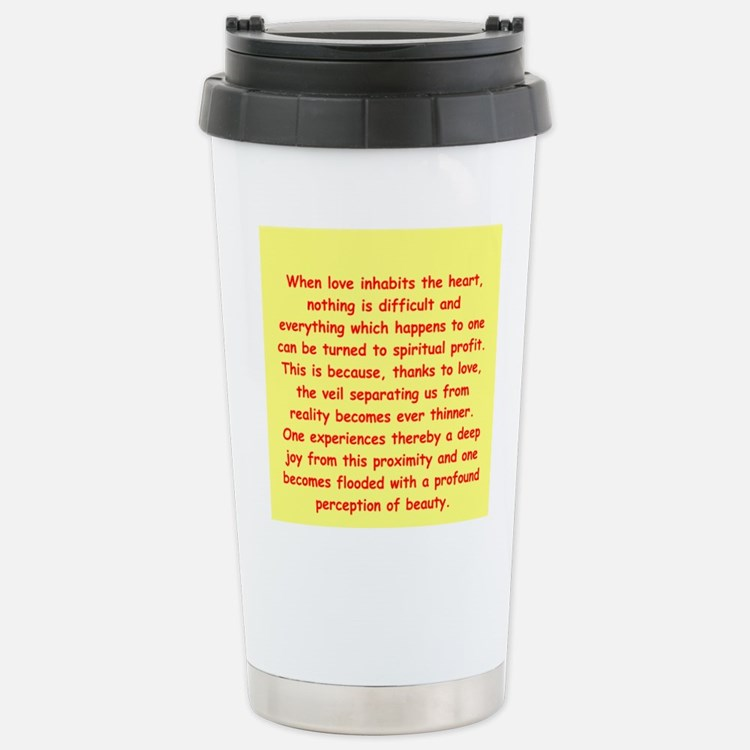 Sufi Sayings Travel Mug