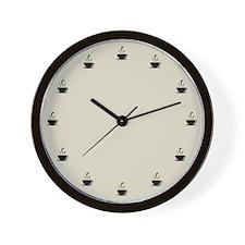 Cuppa Time Wall Clock