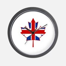 UK Maple Wall Clock