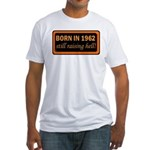 50th Birthday, 1962 Fitted T-Shirt