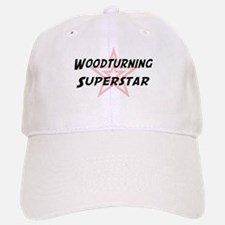 Woodturning Superstar Baseball Baseball Cap