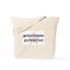 Woodturning Superstar Tote Bag