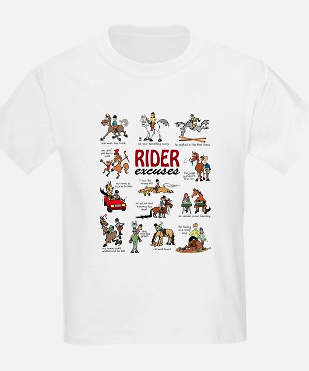 Rider Excuses T-Shirt