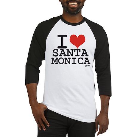 I love Santa Monica Baseball Jersey