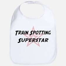 Train Spotting Superstar Bib