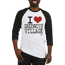 I love Greenwich Village Baseball Jersey