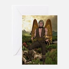 Angel Raphael Greeting Card
